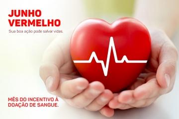 Junho Vermelho – Por que doar sangue é importante?